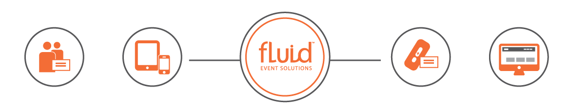 Various Product Icons for Fluid Events